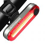 LED Fahrrad Rücklicht Smart Fahrradbeleuchtung, MOREZONE USB Wiederaufladbare Intelligent Fahrradlicht Rückleuchten IPX-4 Wasserdicht Sport Fahrradlampe