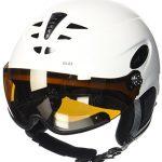 UVEX p1us Helm für Skihelm Snowboardhelm, white,  55-59 cm