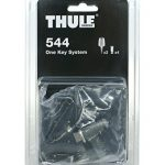 Thule 544000 One-Key System Zubehör, 4 Zylinder
