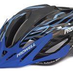 Prowell F59R Vipor F59R Fahrradhelm schwarzblau Gr. M 55-61 cm