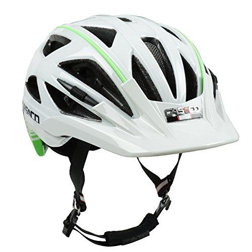 fahrradhelm casco activ 2 wei gr n gl nzend biese lime gr s 52 56 cm eneglan. Black Bedroom Furniture Sets. Home Design Ideas