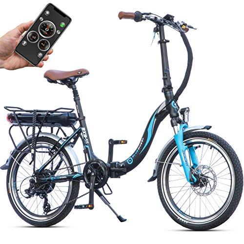 bluewheel klappbares e bike bxb55 20 zoll pedelec mit. Black Bedroom Furniture Sets. Home Design Ideas