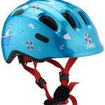 Abus Kinder Smiley 2.0 Fahrradhelm, Turquoise Sailor, 45-50 cm