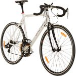Galano 28 Zoll Rennrad Giro D'Italia 3 Rahmengrößen 2 Farben, Farbe:Weiss, Rahmengrösse:56 cm