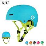 XJD Kinder Fahrradhelm Skaterhelm Kinderhelm CE-Zertifizierung für Fahrrad Skateboard Schifahren BMX für 3-13 Jahre Alt Junge Mädchen Blau, M