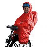 HAMAX Regenschutz Fahrradsitz Regencape Kinder Fahrrad Regenschutz Kindersitz Fahrrad