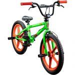 DETOX BMX 20 Zoll Rude Skyway Freestyle Bike Street Park Fahrrad viele Farben grün/orange