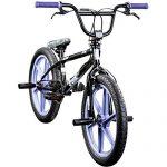 DETOX BMX 20 Zoll Rude Skyway Freestyle Bike Street Park Fahrrad viele Farben schwarz/lila