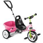 Puky CAT 1 S Kinder Dreirad rosa/grün