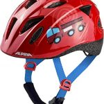 Alpina Kinder Ximo Fahrradhelm, Firefighter, 49-54 cm