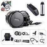 Bafang BBS01B 36V 250W/350W/500W Mittelmotor Umbausatz Elektrofahrrad Kit oder Mittelmotor Kit mit BatterieP850C 36V10Ah