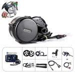 Bafang BBS01B 36V 250W/350W/500W Mittelmotor Umbausatz Elektrofahrrad Kit oder Mittelmotor Kit mit Batterie B750C