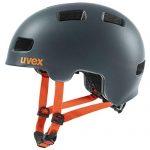 uvex Unisex Jugend, hlmt 4 cc Fahrradhelm, anthrazit matt, 51-55 cm