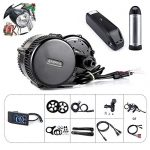 Bafang BBS01B 36V 250W/350W/500W Mittelmotor Umbausatz Elektrofahrrad Kit oder Mittelmotor Kit mit Batterie