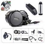 Bafang BBS01B 36V 250W/350W/500W Mittelmotor Umbausatz Elektrofahrrad Kit oder Mittelmotor Kit mit BatterieSW102 36V17.4Ah