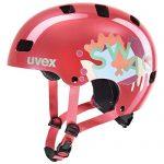 uvex Unisex Jugend, kid 3 Fahrradhelm, coral, 51-55 cm