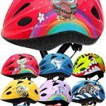 von Profis gebaut, Eule – Roter Helm für Inliner, Schlittschuh/Rollschuh von Kindern gestaltet – Skullcap® Fahrradhelm für Kinder Kinder-Helm für City-Roller, Longboard, Scooter