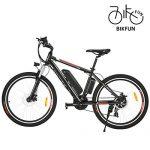 BIKFUN Elektrofahrrad, 20/26 Zoll E-Bike, Lithium-Akku 36V 8Ah, 250W, 21-Gang