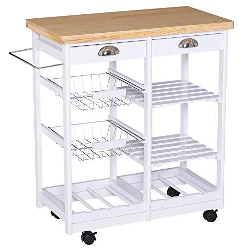 Top 8 Küchenwagen Holz – Küchenwagen