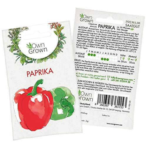 Top 9 Samen Gemüse Paprika – Gemüsesamen & -pflanzen