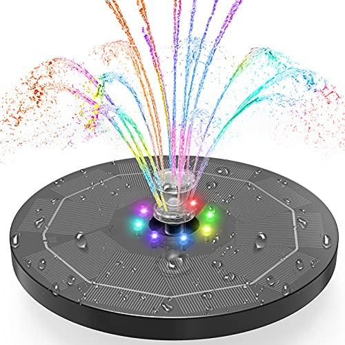 Top 10 Solar Springbrunnen LED – Springbrunnen für Gartenteiche