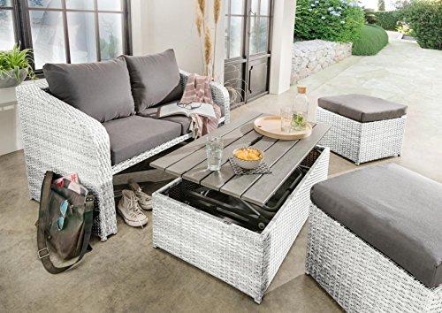Top 10 Sitzgruppe Garten weiß – Möbelsets
